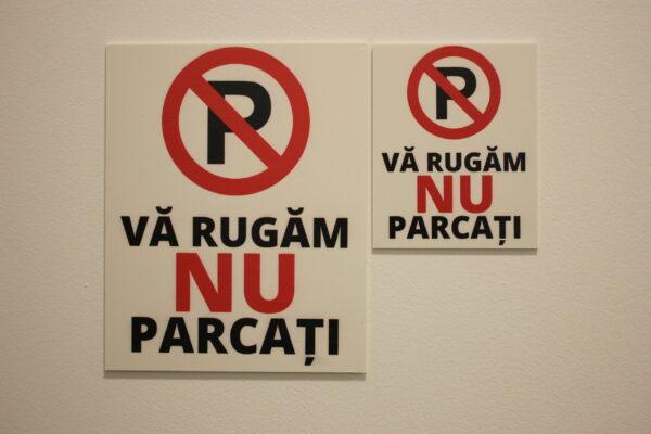 "Semn ""No parking"""