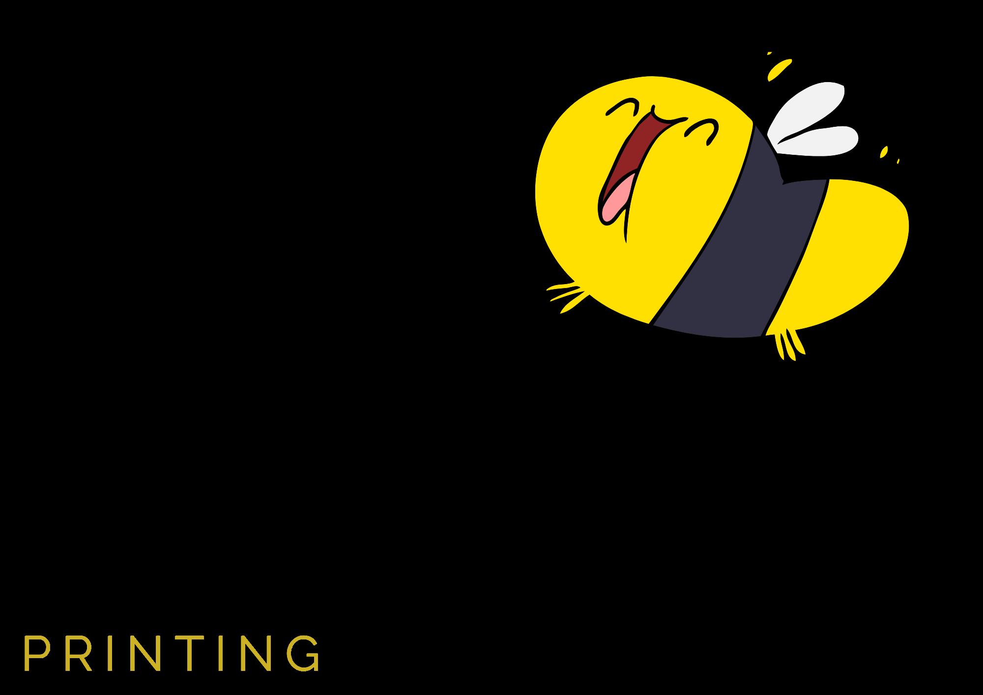 Bee Funky Printing