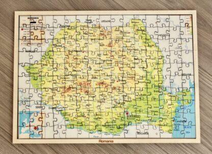 Puzzle harta României