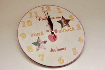 Ceas de perete pentru bunica