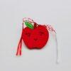 Martisor măr pictat manual