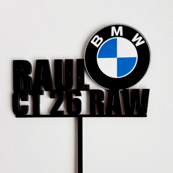 Topper personalizat BMW
