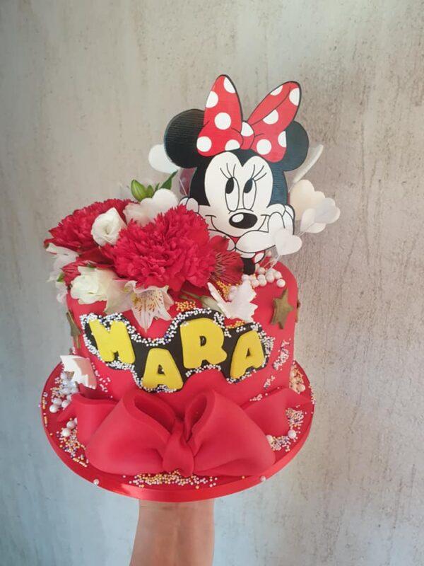 Topper personalizat Minnie Mouse