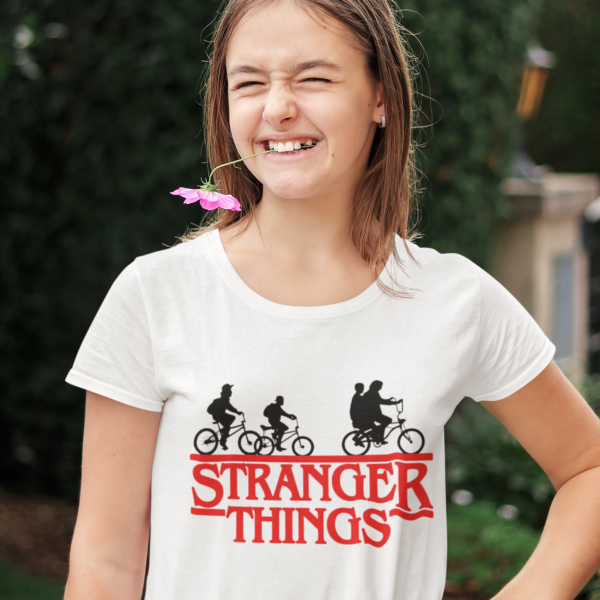Tricou adolescent Stranger Things